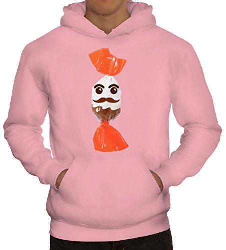 Fasching Verkleidung Hoodie Gruppen & Paar Kostüm Schoko und Milch Kostüm, Größe: S,rosa (Männer, Gruppe Halloween-kostüme)