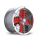 Industrielle kommerzielle 10-Zoll-leistungsstarke runde Dunstabzugshaube, Wand-Industrie-Abluftventilator, Dunstabzugshaube