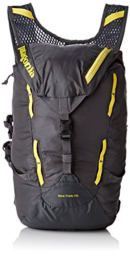 Imagen de patagonia nine trails pack 15l , unisex, forge grey/chromatic yellow, small