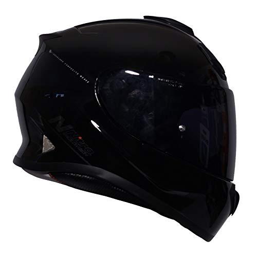 Nitro N3100uno–Casco integrale oscurante nero lucido