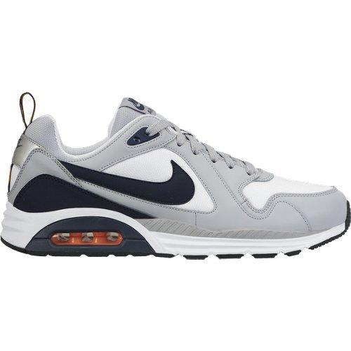 Nike , Herren Sneaker grau Grigio/Bianco/Nero/Arancione