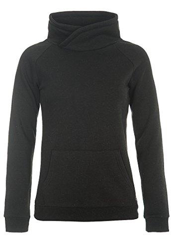 DESIRES DerbyCrossTube Damen Sweatshirt Pullover Sweater Mit Stehkragen Und Cross-Over-Ausschnitt, Größe:M, Farbe:Black (9000)
