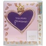 Princess Vera Wang 3.4 Oz Women Edt 0.21 Oz Roll On 2 PCS Gift Set