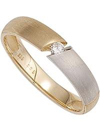 Goldring matt  Suchergebnis auf Amazon.de für: goldring damen ring mit diamant ...