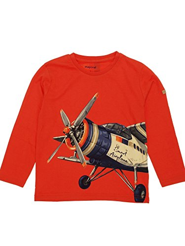 Mayoral 28-03095-015 - T-Shirt Langarm für Jungen 2 Jahre (92cm) Nektar