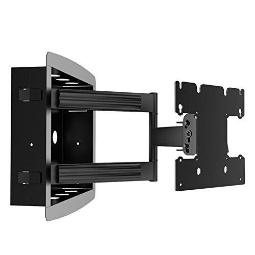 Exing TV Wandhalterung, Ultra Slim TV Wall Mount Bracket TV Cantilever Telescopic Universal Bracket Display Faltmontage für 24