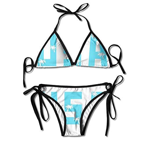 60ac11755db USA Coconut Tree Swimsuits Bikinis Thong Swimsuit for Beach Beach Swimming