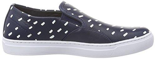 Lacoste L!ve, Rene Alliot Slip, Sneaker Donna Blu (NVY/WHT)
