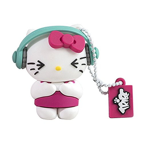 tribe-hello-kitty-dj-memoria-usb-20-de-8-gb-pendrive-flash-drive-de-goma-con-llavero-multicolor