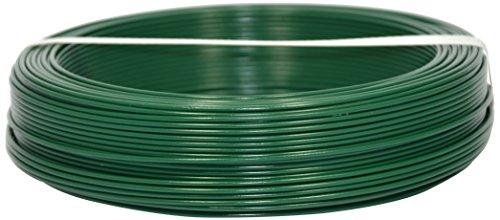 Corderie Italiane 002014089 Fil de fer plastifié, 2,2 mm - 100 m, Vert