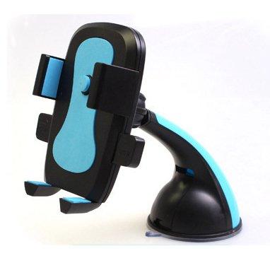 inShang 360° Supporto Auto Smartphone s Porta Cellulare Stand da Tavolo Holder, Supporti, Culla GPS con potente ventosa per Apple iPhone 7 / 7plus, 6 / 6Plus 5 / 5S / 5C / 4 / 4S, Samsung Galaxy S6 / S5 / S4 / S3 ecc, (qualsiasi telefono da 4 - 6.3