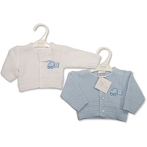 Paquete de prematuro de nacimiento de un niño de punto con Cardigans - con texto en inglés 2 5/17,64 lbs (de 2,3 - 3,6 kg)