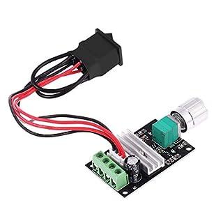 UEETEK 1203BB 6V 12V 24V 3A 80W DC Motor Drehzahlregler (PWM) Einstellbarer Reversible Motor Driver Switch