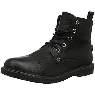 Levi s Damen Track S Biker Boots, Schwarz (Noir Regular Black 59), 40 107a378201
