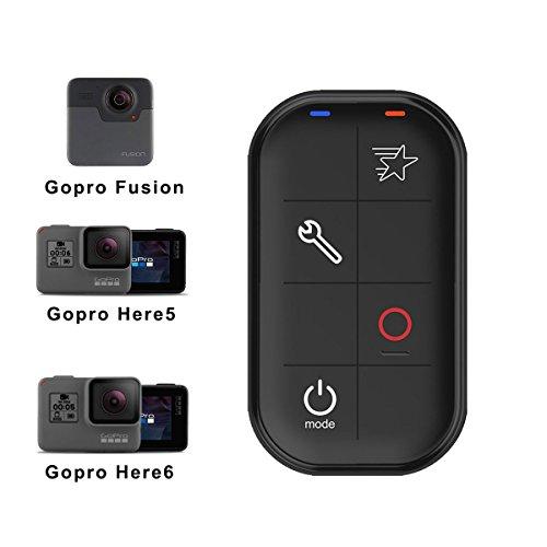 AFAITH Télécommande Intelligente étanche WiFi Remote Contrôleur pour GoPro Hero 6 Hero 5 black Hero 4/5 Session Hero 4/3+, GoPro Hero LCD de Contrôleur pour Appareil Photo avec dragonne et USB câble