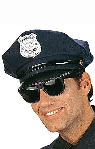 Blaue Polizei Mütze (Magic Mike Kostüm Halloween)