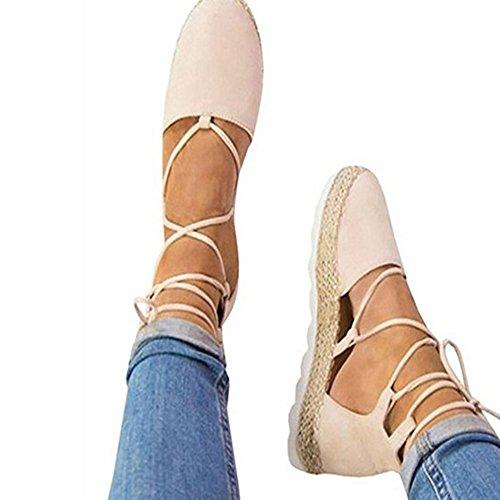 Cheyuan scarpe donna estive sandali - moda piattaforma scarpe casuale comfort eleganti chiuse davanti pompe scamosciato scarpe 36