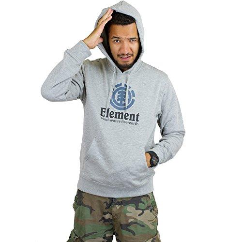 Element Hoody Vertical grau Grau