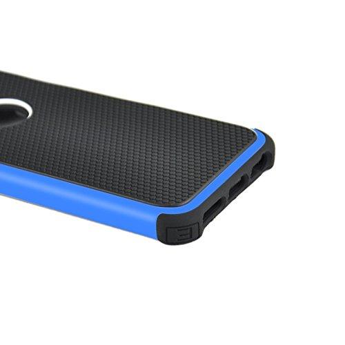 wkae Schutzhülle Case & Cover Fußball Textur Kunststoff Schutzhülle für iPhone 6& 6S blau