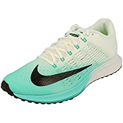 Nike Mujeres Air Zoom Elite 9 Running 863770 Sneakers Turnschuhe (UK 4 US 6.5 EU 37.5, Fusion Red/Atomic Pink/Reflective Silver 302)