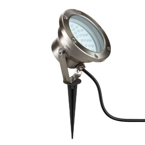 parlat LED Gartenstrahler mit Erdspieß für außen, IP55, 2W, 130lm, warm-weiß