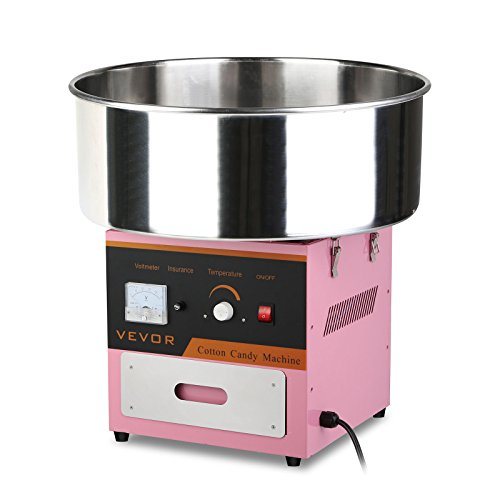 SucceBuy Machine à Barbe à Papa Professionnelle Cotton Candy Machine Pour Enfants