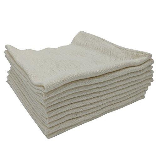 Waffenpflegetuch Baumwolltuch Reinigungstuch Werkstatttuch Putztuch - 40x40 cm (verschiedene Mengen)