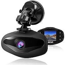 Auto Dash Cam FHD 1080P Mini Auto Kamera Video Recorder mit 120° Weitwinkelobjektiv Parkplatz Monitor Bewegungserkennung Loop-Aufnahme Nachtsicht G-Sensor von BEVA