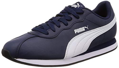Puma Turin Ii Zapatillas Unisex adulto, Azul (Peacoat-Puma White 5), 42 EU (8 UK)