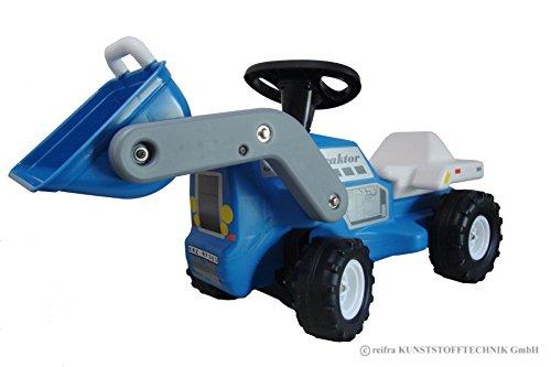 Babyrutscher Traktor blau DDR Kinderfahrzeug