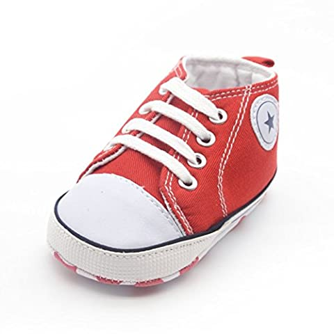 ESHOO Tollder Baby Soft Sole Crib Shoes Sneaker Prewalker