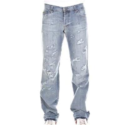 D&G jeans Dolce & Gabbana straight leg denim jean DGM3809