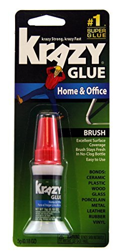 krazy-glue-kg94548r-instant-crazy-glue-home-office-brush-018-ounce-by-krazy-glue