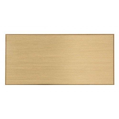 Messing Namensschild Türschild Klingelschild mit Wunsch Gravur 60 x 20mm