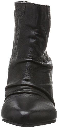 Black Lily - Robby Wedges, Stivali bassi non imbottiti Donna Nero (Nero (nero))