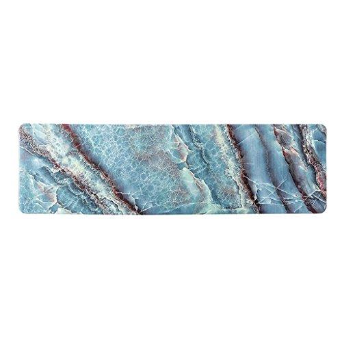 Kitchen mats cucina tappetini met love olio e impermeabile in pvc domestici tappetino sporco casa camera da letto tappetino, 45 * 120cm