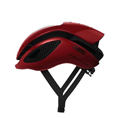 Abus Gamechanger Aero- Helm Fahrradhelm, Rot (blaze red), M (52-58 cm)