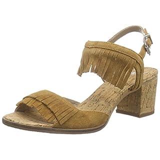 SPM Avocet Cork Sandal, Damen Knöchelriemchen Sandalen, Braun (Chestnut 010), 39 EU