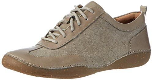 Clarks Damen Autumn Garden Sneaker, Grau (Sage Combi), 37 EU