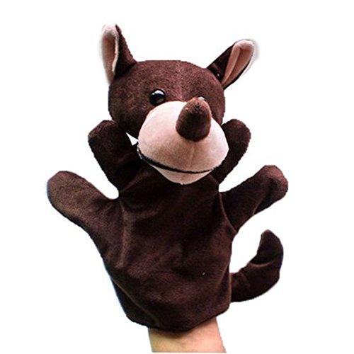 Niño lindo de la felpa marionetas de mano, Lobo