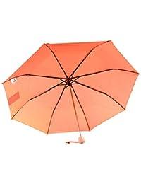 Paraguas unisex SERGIO TACCHINI mini manual naranja ligero prueba de viento Q145