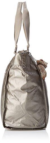 Kipling Damen Nuovo Shopper L Totalizzatore, 48.5x34x0.1 Cm Oro (metallizzato In Peltro)