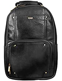 b929c04663a1 SCHARF Mike Button - Pack My Back 19L Genuine Leather Backpack Bag