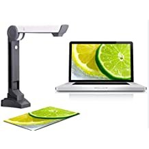 Express Panda Escáner de documentos en color para convertir documentos y fotos (documentos, libros, fotos, formularios gubernamentales, etc.) en archivos digitales - C¨¢mara de documentos de 5 megapíxeles OCR / escáner fotográfico