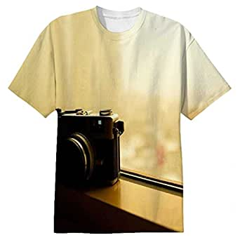 Snoogg Vintage Style Photography Mens Casual All Over Printed T Shirts Tees