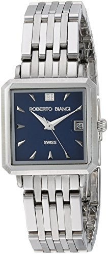 ROBERTO BIANCI WATCHES Women's 'Modomora' Swiss Quartz Stainless Steel Casual Watch, Color:Silver-Toned (Model: RB18093)