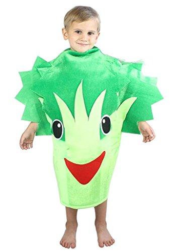 Petitebelle Halloween Weihnachten Obst Gemüse Unisex-Kostüm-Partei-Kleid-Kleidung Einheitsgröße Brokkoli Sellerie