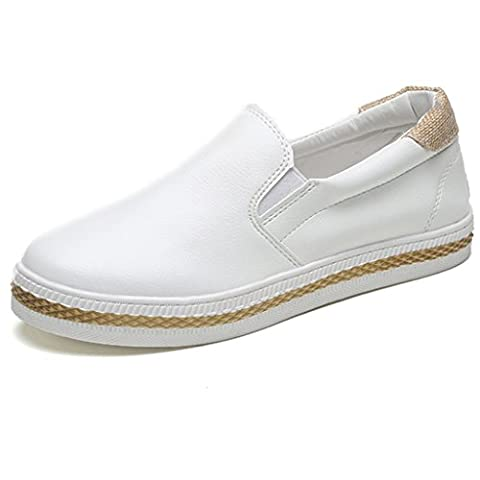 OverDose Women Loafers Slip On Flat Shoes