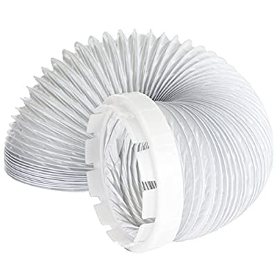 SPARES2GO Vent Hose & Adaptor Kit For Hotpoint Tumble Dryer (2 Metres, 4'' Fitting) by SPARES2GO