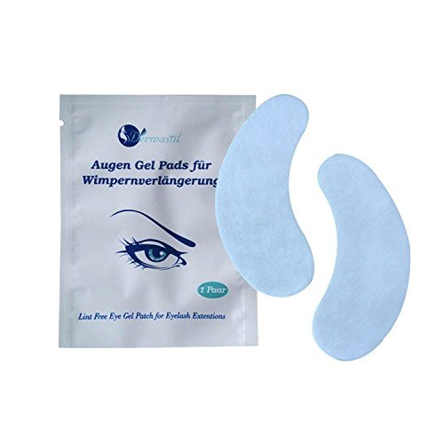 testé style 20 paires de patchs Yeux, les yeux gel Pads pour extensions de cils de Lint Free Eye Gel Patch for Eyelash Extensions